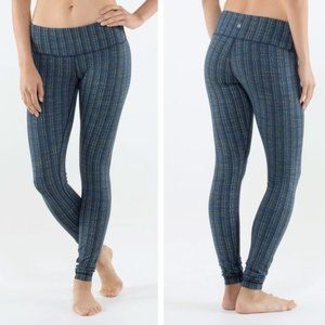 Lululemon Wunder Under Textured Zig Zag Leggings